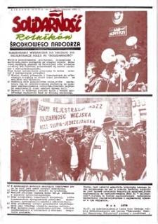 Solidarność rolników Środkowego Nadodrza, nr 4-5 (16.09 do 31.10.1981r.)