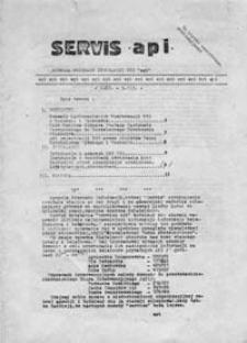 Serwis API (Agencja Przekazu Informacji NZS), 2 II - 9 II [1981]