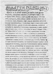 Biuletyn TKZ NZS UMCS w Lublinie, nr 3 (1-2 IX 1980)