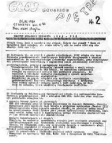 Głos drugiego piętra, nr 2 (26.XI.1981)