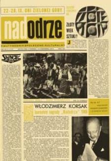 Nadodrze: dwutygodnik społeczno-kulturalny, nr 20 (27 września - 10 października 1969)