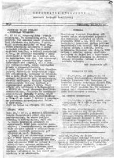 Informator Strajkowy Akademii Teologii Katolickiej, nr 2 (22.XI.81)