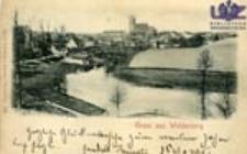 Dobiegniew / Woldenberg N.-M.; Gruss aus Woldenberg
