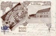 Bieniów / Benau; Gruss aus Benau