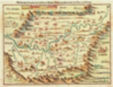 Śląsk [mapa] / Śląsk [mapa] / Schlesia nach aller gelegenheit in Stetten, Wässern, Bergen, mit sampt anderen anstossenden Ländern