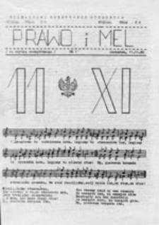 Prawo i MEL, nr 1 (11.11.80)