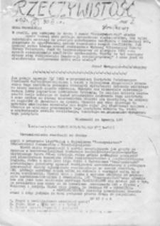 Rzeczywistość, nr 1 (24 XI 1981)