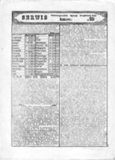 Serwis Uniwersyteckiej Agencji Strajkowej NZS UW, nr 6 (30.11.1981)