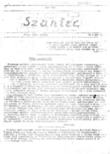 Szaniec: pismo polityczne młodzieży, nr 3 (kwiecień 1981)