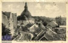 Zbąszyń / Bentschen; An der ev. Kirche u. Gemeindehaus