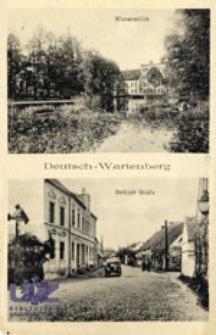 Otyń / Deutsch - Wartenberg; Wassermühle, Berliner Straße