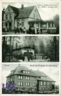 Krępa / Krampe; Gruß aus Krampe, Kr. Grünberg