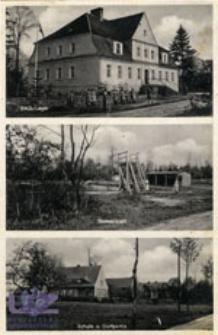 Szyba / Scheibau; Gruß aus Scheibau, Kr. Freystadt N.-Schl.