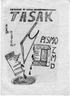 Tasak: pismo ZMD, numer pilotujący