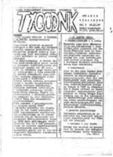 Tygodnik: pismo Niezależnego Zrzeszenia Studentów UJ: wydanie strajkowe, nr 3 (22.XI.81)