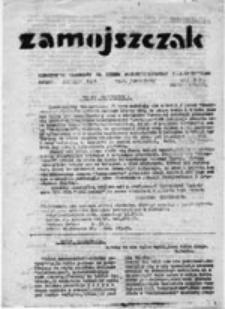 Zamojszczak: miesięcznik młodzieży II. Liceum Ogólnokształcącego im. J. Zamoyskiego, nr 1 (grudzień 1980)