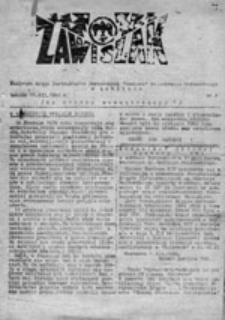 """Zawiszak: biuletyn Kręgu Instruktorów Harcerskich """"Zawisza"""" im. Andrzeja Małkowskiego w Lublinie, nr 4 (31 I 1981)"""