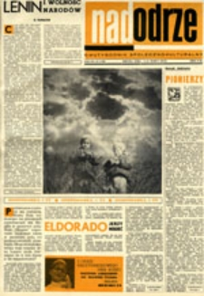 Nadodrze: dwutygodnik społeczno-kulturalny, nr 5 (1-14 marca 1970)