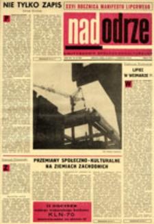 Nadodrze: dwutygodnik społeczno-kulturalny, nr 15 (19 lipca-1 sierpnia 1970)