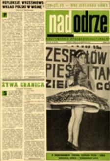 Nadodrze: dwutygodnik społeczno-kulturalny, nr 19 (13-26 września 1970)