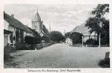Świdnica / Schweinitz; Krs. Grünberg i. Schl. Hauptstraße