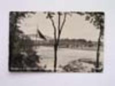 Bytom Odrzański / Beuthen; Blick von der Oder-Terrase