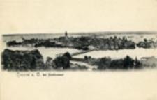Krosno Odrzańskie / Crossen a. O.; bei Hochwasser