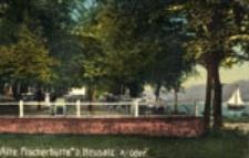 Stara Wieś / Alte Fähre; Alte Fischerhütte b. Neusalz a/Oder