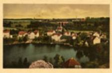 Łagów / Lagow; Blick vom Schloßturm