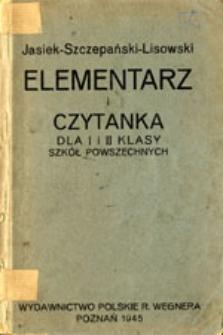 Elementarz i czytanka dla I i II klasy szkół powszechnych