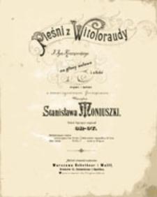 Pieśni z Witoloraudy: na głosy solowe i chór męski i żeński z towarzyszeniem fortepianu