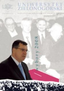 Uniwersytet Zielonogórski, 2008, nr 3 (marzec)