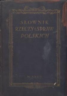 Słownik rzeczy i spraw polskich
