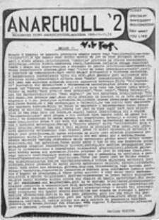 Anarcholl: naoliwione pismo anarchistyczne, nr 2, numer specjalny, zmniejszony, okolicznościowy (11-12.11.1989)