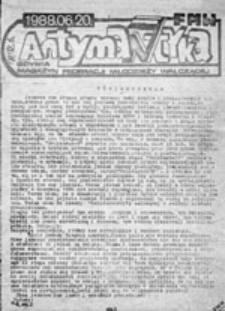 Antymantyka: magazyn Federacji Młodzieży Walczącej, nr 21 (21.06.1989)