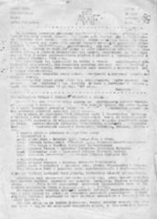 AWF: niezależne, nieregularne pismo studentów AWF-u, nr 4 (styczeń 1986)