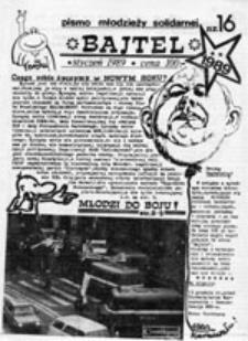 Bajtel: pismo młodzieży solidarnej, nr 16 (styczeń '89)
