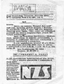 Bakcyl: głos wolnego SGPISU, nr 2 - specjalny (5 listopad 1986 r.)