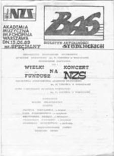 BAS - Biuletyn Aktualności Studenckich: nr specjalny (15.06.1989)