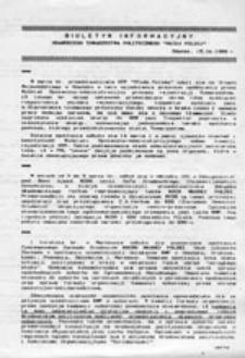 """Biuletyn Informacyjny Gdańskiego Towarzystwa Politycznego """"Młoda Polska"""" (15.04.1989 r.)"""