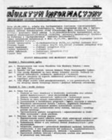 Biuletyn Informacyjny Regionalnego Komitetu Założycielskiego Niezależnej Unii Młodzieży Szkolnej, nr 1 (16.06.1989)