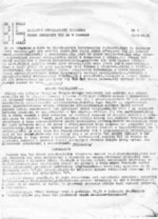 Biuletyn Informacyjny Siódemka: pismo młodzieży VII LO w Gdańsku, nr 1 (1985.04.30)