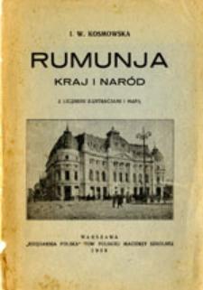 Rumunja: kraj i naród: z licznemi ilustracjami i mapą