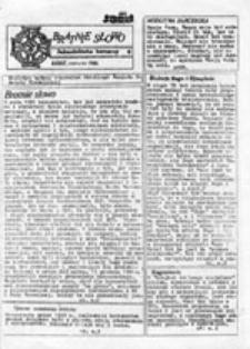 Bratnie słowo: jednodniówka harcerzy (czerwiec 1986)