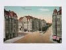Głogów / Glogau; Hohenzollernstraße; Aleja Wolności