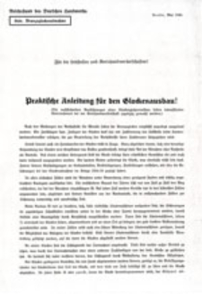 Praktische Anleitung für den Glockenausbau!: Für die Leitstellen und Kreishandwerkerschasten!