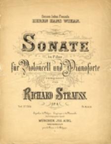 Sonate in F dur für Violoncell und Pianoforte, op. 6