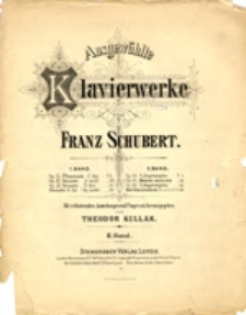 Klavierwerke: 2. Band (Op. 90 - 4 Impromptus, Op. 94 - Momens musicaux, Op. 142 - 4 Impromptus, Drei Klavierstücke)