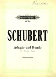 Adagio und Rondo: Klavier-Quartett
