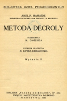 Metoda Decroly